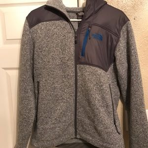 North face fleece hoody